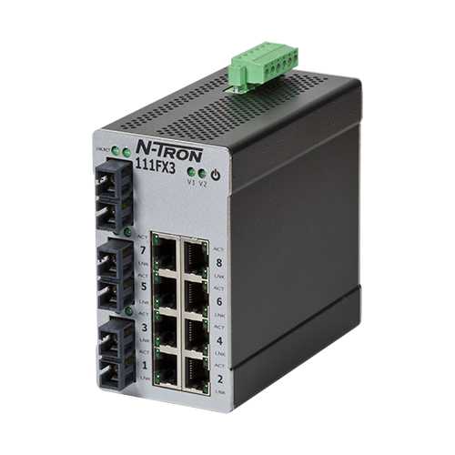 100 Ethernet Switches