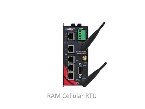 RAM Cellular RTU