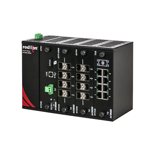 NT24k® Managed Ethernet Switches